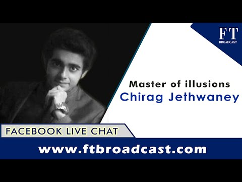 Spellbound! A delightful exchange with the master of illusions, Chirag Jethwaney(Facebook Live)