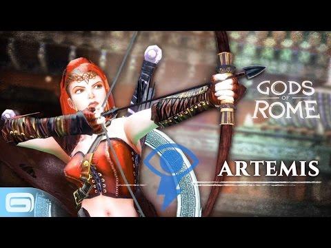 Gods Of Rome - Artemis, Goddess Of The Hunt