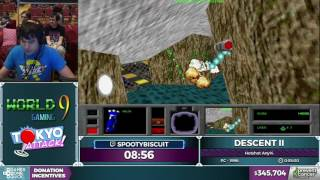Descent II by spootybiscuit in 40:03 - AGDQ 2017 - Part 61