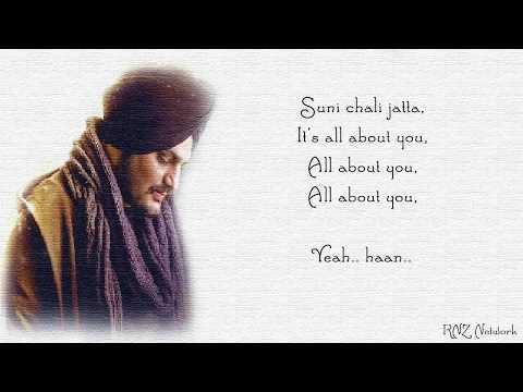 Its All About You Lyrics | Sidhu Moose Wala | Intense | Valentine Day Special Punjabi Song 2018