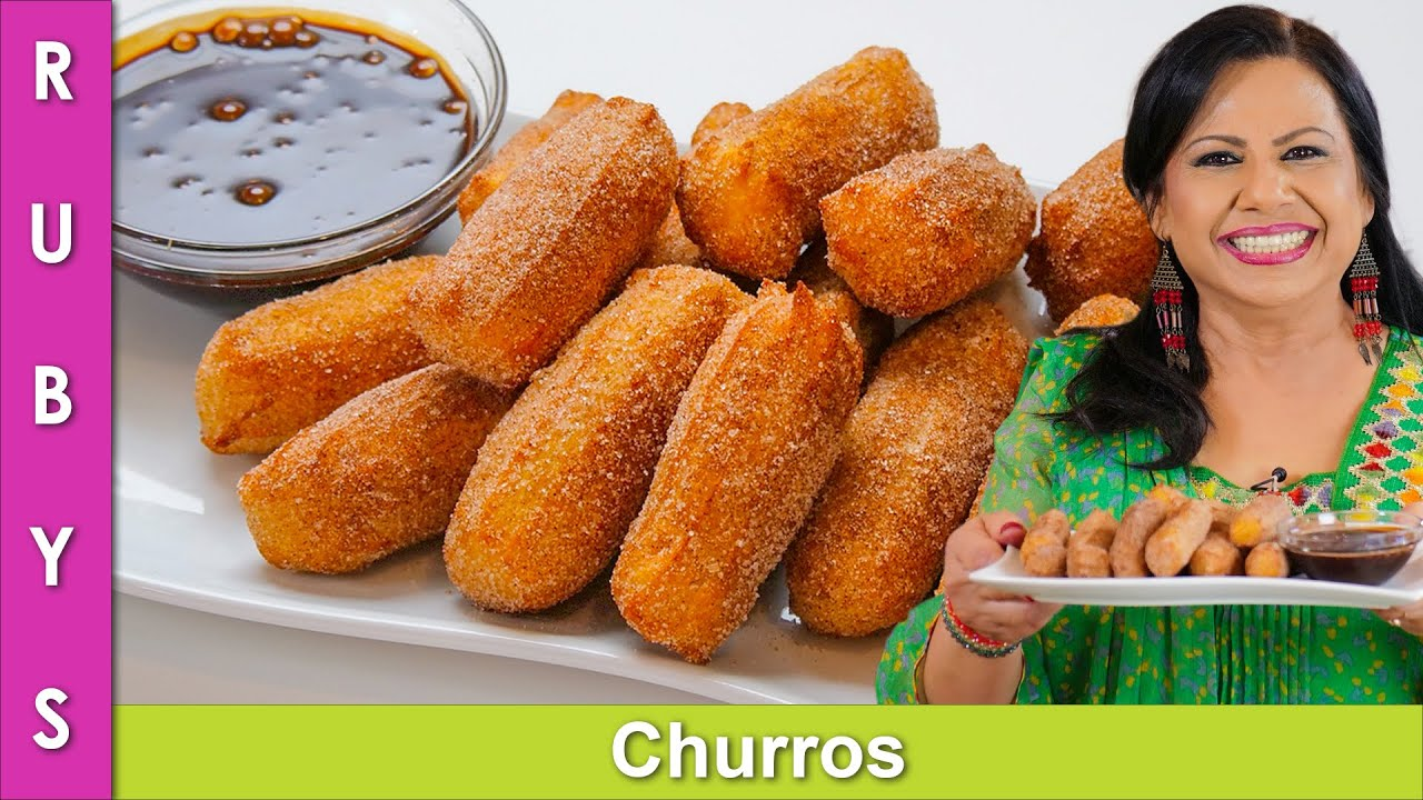 Sweet Churros Fastest, Easiest & Most Simpliest Recipe in Urdu Hindi - RKK
