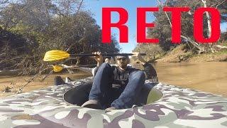 RETO PELIGROSO | LANCHA EN EL RIO PARTE 2!!! (BayBaeBoy Vlogs)