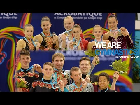 HIGHLIGHTS - 2014 Acrobatic Worlds, Levallois-Paris (FRA) - Pairs - We are Gymnastics!