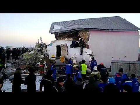 Passenger plane crashes in Kazakhstan   AFP