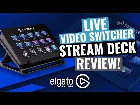 Multicam Livestream Video Switcher: Elgato Stream Deck Review!