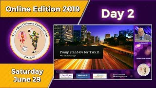 TNOC 2019 Day 2 Perfusion standby and the Transcatheter Aortic Valve Replacement TAVR - ECMO