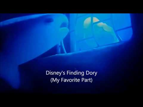 Disney Finding Dory Bailey Sonar (My Favorite part)