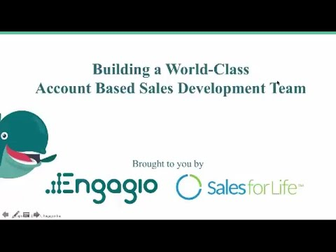 Building a World-Class Account Based Sales Development Team