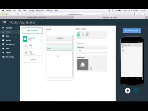 Build stunning mobile apps with Bluemix mobile services - Part 1