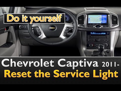 chevrolet captiva 2011 service light reset easy and for