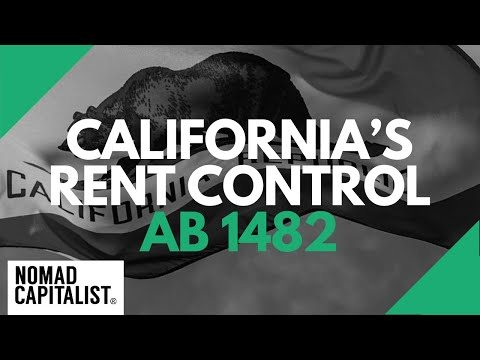 Thoughts on California's New Rent Control Law