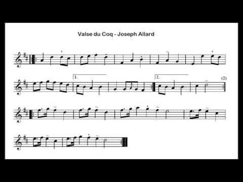 Folklore Québécois - ♫ Joseph Allard - Valse du Coq ♫
