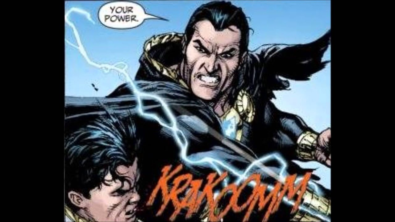 Black Adam Vs Captain Marvel DCs New 52