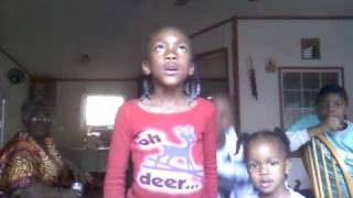 Aryl singing Church Bells