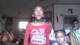 Aryl singing Church Bells