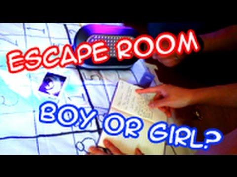 homemade escape room boy or girl gender reveal youtube. Black Bedroom Furniture Sets. Home Design Ideas