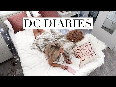 DC FASHION WEEK, THE WEEKND CONCERT & LAW LIBRARY RESEARCH | DC Diaries #6