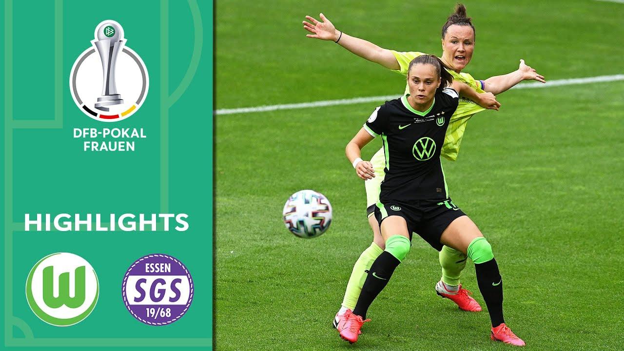 VfL Wolfsburg - SGS Essen 7:5 n.E. | Highlights | DFB-Pokal der Frauen | Finale