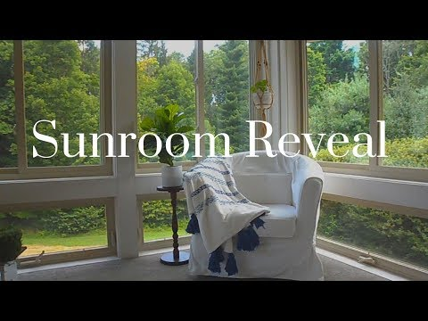 Sunroom Reveal! | Farmhouse Style