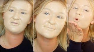 видео Коррекция недостатков кожи при помощи декоративной косметики