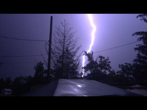 2017-07-17  - Nighttime Thunderstorm (Hudson, NY) [RH]