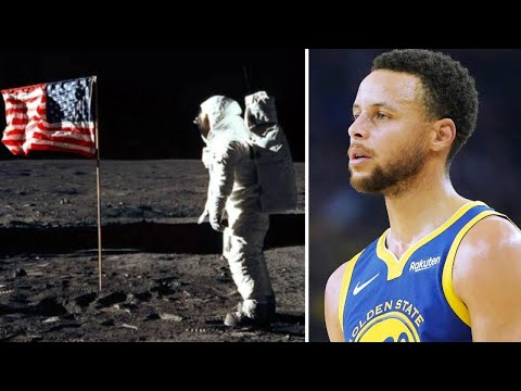 Voorhees - Curry Says He Was Joking About Fake Moon Landing