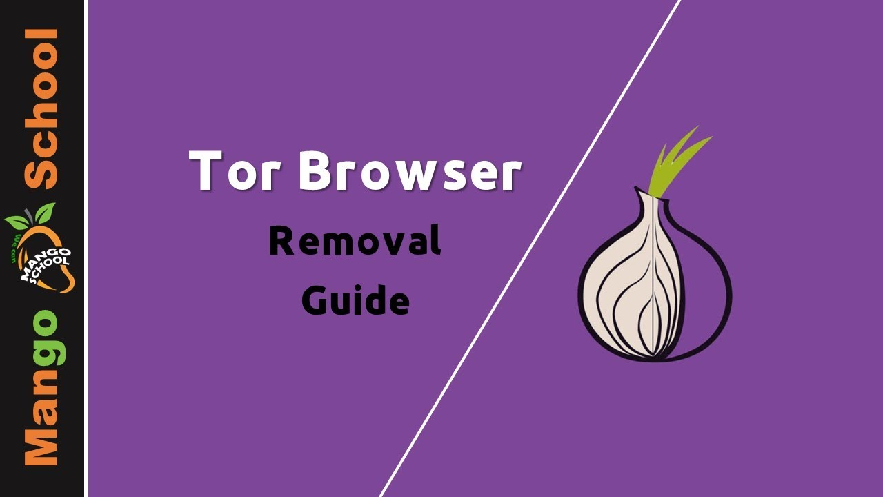 Tor removal Guide - disinstallare tor browser