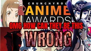 Crunchyroll Anime Awards Nominations 2018. OMG HOW CAN THEY BE THIS WRONG