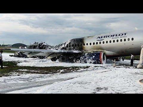 """Ситуация в Шереметьево после пожара на борту пассажирского самолета """"Аэрофлота"""""""