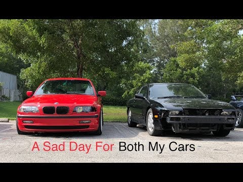 A Sad Day For Both My Cars