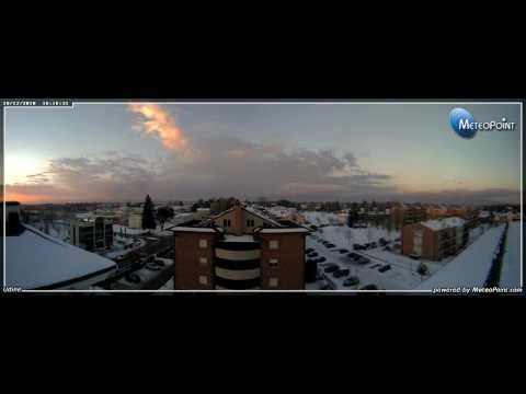 Nevicata A Udine - (17-18)-12-2010 - Timelapse Di Due Giornate - Meteopoint S.a.s.