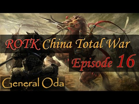 China Total War - ROTK - Lets Play Part 16 - Battle with Liu Feng