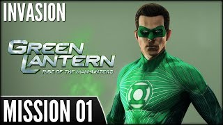 Green Lantern: Rise of the Manhunters (PS3) - Mission 01: Invasion