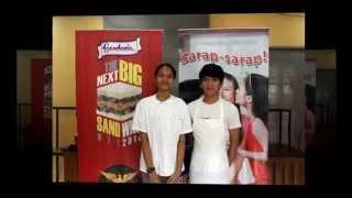 University Of The Philippines - Gardenia's The Next Big Sandwich Hit 2014