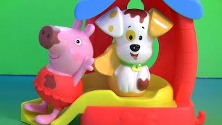 Bubble Guppies Puppy Bathtime Color Changing Toys with Nickelodeon Peppa Pig Color Changers