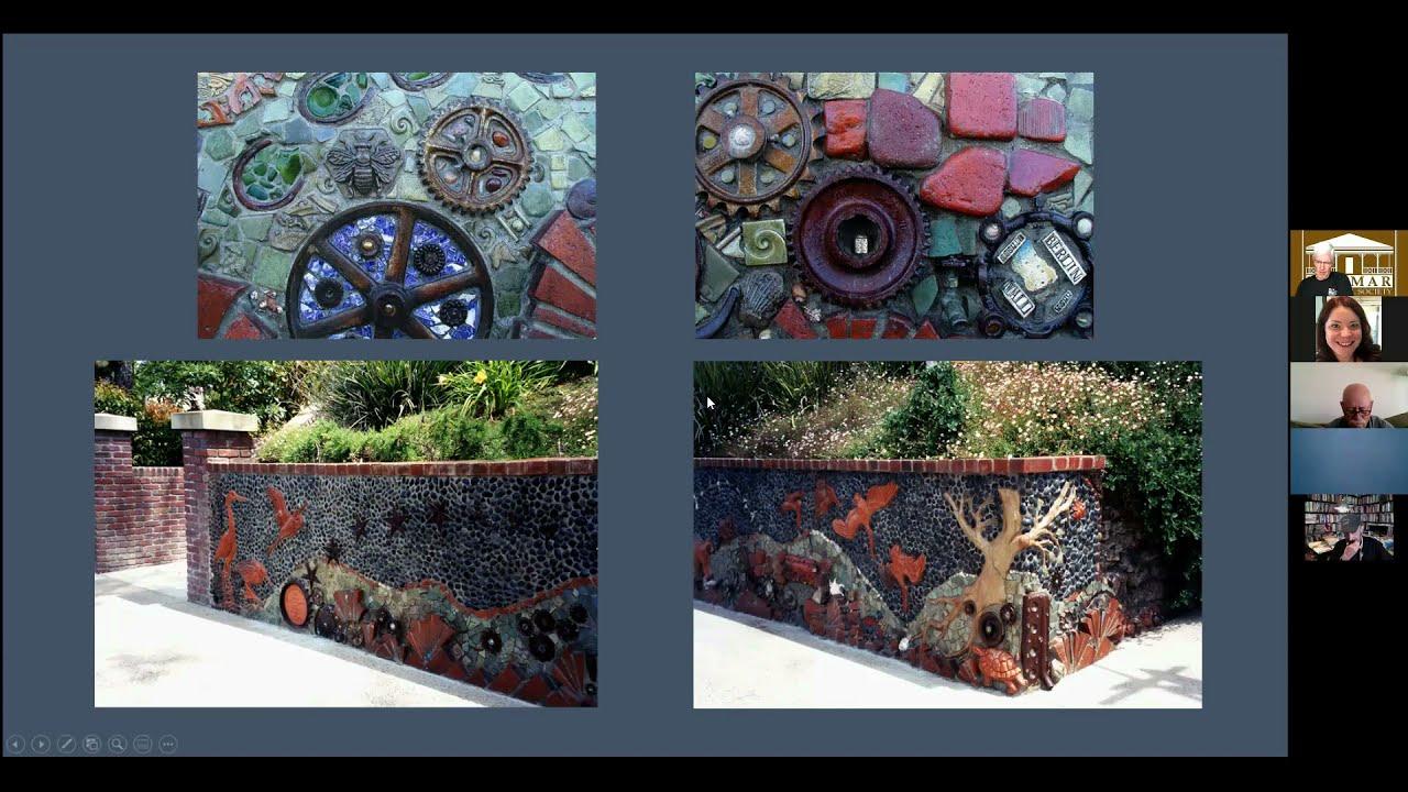 Remarkable Del Mar History: The Del Mar Library Wall