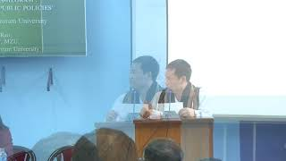 Inaugural Function of National Seminar on Governance and Development in Mizoram