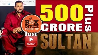 Salman Khan's Sultan earns Rs 500 crore at international box office