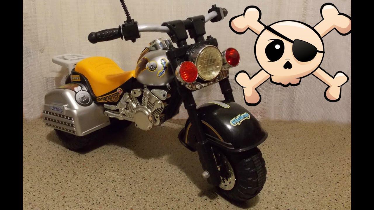 От себя с усами - своими руками. Ремонт игрушек требует умения    Мотоцикл Каталка