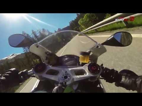 """Ducati 1199 Panigale-""""Auf der Alpenstrasse"""""""