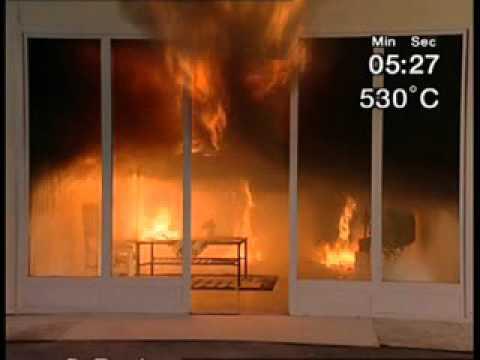 Виниловые и бумажные обои крайне опасны при пожаре