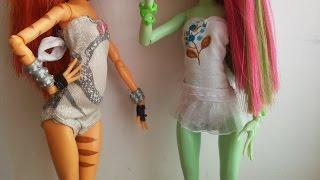 Как сделать купальник для куклы Монстер Хай. Мастер класс.(, 2015-05-10T10:08:03.000Z)