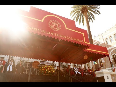 Live Stream: The 135th Commencement at USC