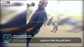 مصر العربية | اعتصام أهالي وعمال سكك حديد أبوزعبل