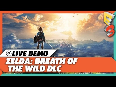 Zelda: Breath of the Wild New Armor and Trial Of the Sword Live Gameplay | E3 2017 GameSpot Show