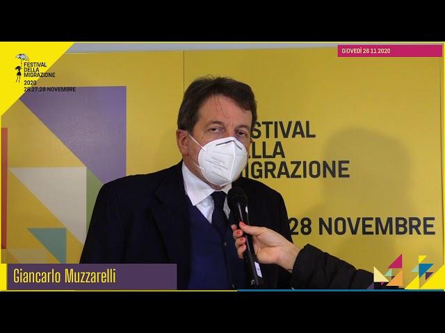 Festival migrazione 2020 // Apertura del Festival // Intervista Gian Carlo Muzzarelli