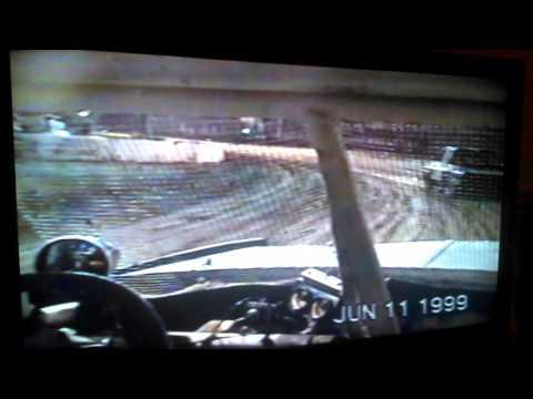 Truck main event at Manzanita Speedway. 1999