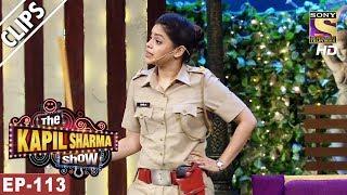 Sarla The Policewoman - The Kapil Sharma Show - 11th Jun, 2017