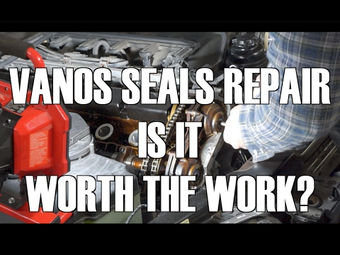 E46  Double Vanos Seals DIY and Impressions