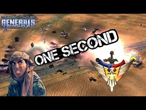 Одна секунда решила исход матча [Generals Zero Hour] EPIC GAME